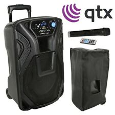 "QTX Busker 10 Portable Active 10"" USB / SD / Bluetooth PA Speaker System"