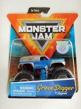 Grave Digger The Legend Monster Jam Truck (Figure,Poster)(Spin Master)(2019)