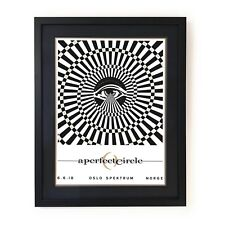 A Perfect Circle gig poster Oslo Norway ***Signed AP Limited edition