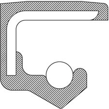 Engine Crankshaft Seal-6 Speed Trans National 223520