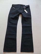 Diesel ZATHAN wash 008XE Bootcut Jeans Hose, W 34 /L 34, NEU ! Schwarz ! Black !