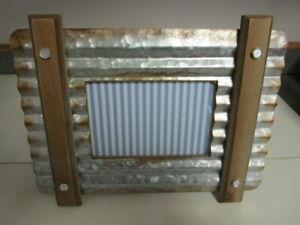 Farmhouse Industrial Decorative Picture Frame