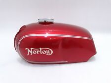NORTON COMMANDO ROADSTER CHERRY PAINTED PETROL TANK WITH CAP (BEST QUALITY) C- 1