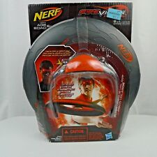 Nerf Fire Vision Sports Flyer Disc And Frames Microprism Technology New
