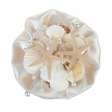 NEW Lillian Rose Coastal Seashell Bouquet  6-Inch Multi-Color, Natural