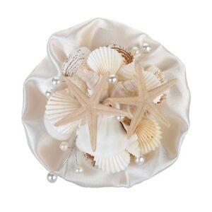 NEW Lillian Rose Coastal Seashell Bouquet  6-Inch Multi-Color, Natural
