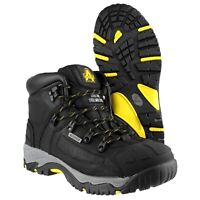 Amblers FS32 Black Waterproof Mens Ladies Safety Boot |3-15|
