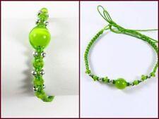 Unisex Perlen gefädelte Modeschmuck-Armbänder