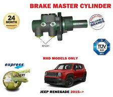 FOR JEEP RENEGADE RHD 1.4 1.6 CRD 2.0 4X4 2014-> NEW BRAKE MASTER CYLINDER