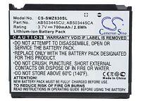 AB503445CU Battery For SAMSUNG SCH-B540, SCH-W2700, SGH-P520 Giorgio, 700mAh
