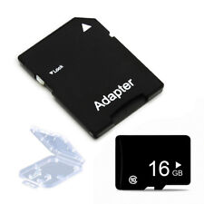 16GB Micro SD TF Flash Memory Card  SDHC Class 10 Adapter for Phone Tablet 16gb