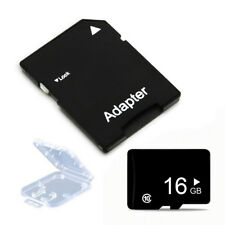 16GB Micro Class 10 SD Card TF Flash Memory Card +Adapter SDHC for Phone Tablet