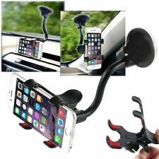 Supporto Cellulare per Auto 360° Porta a Ventosa Pinza Universale Smartphone GPS