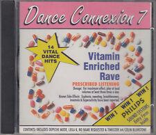 Dance Connexion 7 Vitamin Enhanced Rave CD Depeche Mode Leila K Ren Timecode