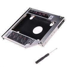 SATA 2nd HDD Festplatten Caddy Einbau Rahmen Adapter 9,5mm Laptop Zubehör