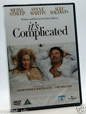 It's Complicated DVD Region 2 NEW SEALED