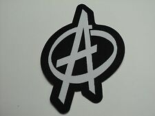 ANARCHY WOVEN  PATCH