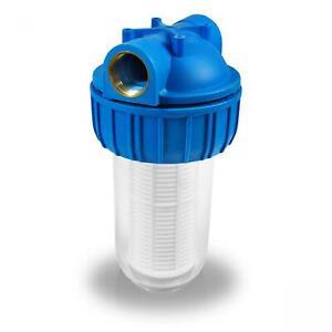 1'' Wasserfilter - 3000 l/h Pumpen Vorfilter Pumpenfilter Filter Hauswasserwerk