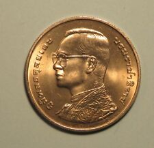 72nd Birthday King Bhumibol Adulyadej 1999 Rama IX Thailand 20 Baht Coin Siam b