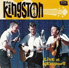 THE KINGSTON TRIO : LIVE AT NEWPORT / CD - TOP-ZUSTAND
