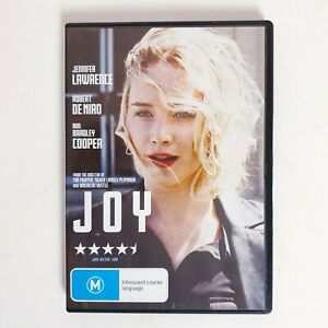 Joy Movie DVD Region 4 AUS Free Postage - Drama Jennifer Lawrence