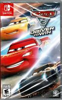 Cars 3 Driven to Win Switch New 20+Track 20+ Race Cars Stunt Park Daring Tricks