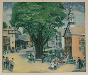 Children's Day, Peterborough, A serigraph by Harry Shokler, signed