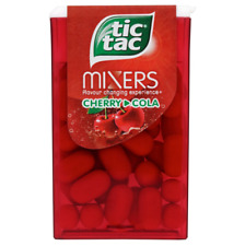 Full Box of 24 Tic Tac Mixers Cherry Cola Single 18g Free Tracked Delivery