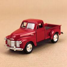 1953 Classic Chevrolet 3100 Pick-Up Ute Red Die-Cast Model Car 12cm Pull-Back