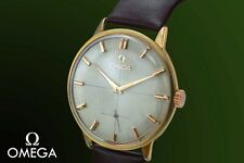 EXCEPTIONAL GENUINE OMEGA ORIGINAL GUILLOCHE DIAL CAL.267 DATED 1959 WATCH!