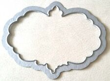 Sizzix Die Cutter DECORATIVE PLAQUE Thinlits fits BIGkick Big Shot Cuttlebug