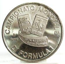 Auto-FORMULA 1 (AGIP-FERRARI) Medaglia Argento