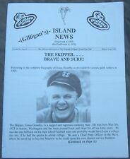 """Gilligan's Island """"Island News Volume 21 Issue 1 Winter 1991"""" Newsletter Vintage"""