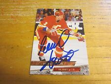 Frank Musil Autographed Signed 1993-94 Ultra #283 Card NHL Hockey Calgary Flames