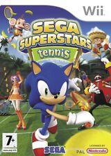Nintendo Wii Game Sega Superstars Tennis
