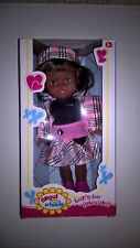 Doll Ethnic/African American/Hispanic/Indian/Dark Skin 11 inches Plaid Skirt