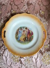 ZSOLNAY PLATE/ FINE HUNGARIAN PORCELAIN