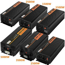 Convertisseur 3000W 5000W 7000W 10000W DC 24V AC 230V Onde Sinusoïdale Pure