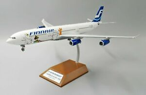 INFLIGHT 200 IF343AY002 1/200 FINNAIR A340-300 MOOMINS REG: OH-LQC WITH STAND