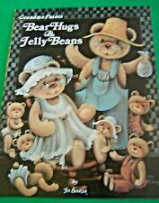 BEAR HUGS & JELLY BEANS JO SONJA 1984 OILS ACRYLICS TOLE PAINT BOOK FOLK ART
