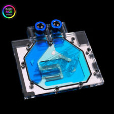 By RGB VGA GPU Water Cooling Block For Gigabyte GTX1070MI GTX1070mini GTX1080