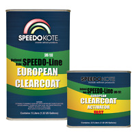 European Clear Coat 2K Urethane, SMR-1100 7.5 Liter Euro Clearcoat w/Fast Act.