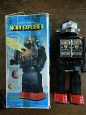 Robot Jouet Vintage Moon Explorer Années 70