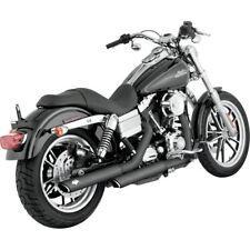 Colas De Escape Para Harley-Davidson® Dyna® Vance & Hines Twin Slash Black
