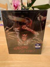Evil Dead 1 & 2 (4K UHD BD, Blu-ray, Digital) Steelbook Best Buy NEW MINT 💵