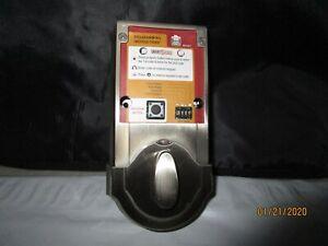 KWIKSET SMARTCODE KEYLESS ENTRY S-NICKEL 909 or 910 DEADBOLT INTERIOR W/O COVER