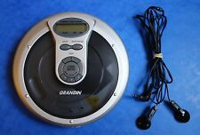 *** WALKMAN CD - GRANDIN BCD 195 / CD -  CDW COMPATIBLE - BASS BOOST ***