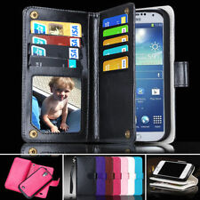 Unbranded/Generic Mobile Phone Wallet Cases for Samsung Galaxy S4 with Card Pocket