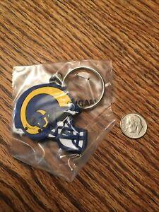 Los Angeles Rams Logo Rubber Keychain