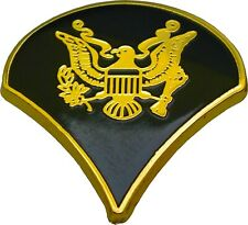 Army Specialist 4Th Class Military Rank Spec 4 Pin Black